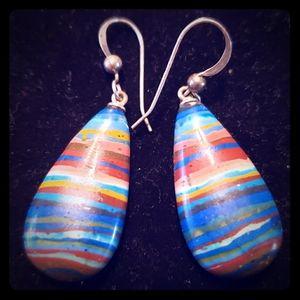 Multicolored earrings